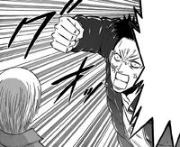 Busujima Attacks Furuichi Again