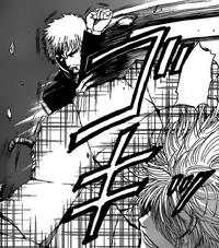 Kanzaki Blocks Nasu's Kick