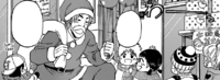 Tojo Works As Santa Claus
