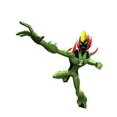 Fuego Pantanoso en Ben 10 Fuerza Alienigena: Vilgax Ataca y Ben 10: Destruccion Cosmica