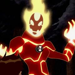 Gwen como Fuego.