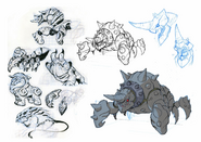 Crabdozer Concept Art