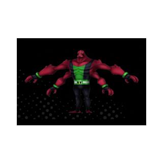 Cuatrobrazos en Ben 10 Omniverse: El videojuego a los 16 años