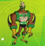 Kickin Hawk - Pose Oficial