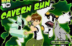 Ben10-Cavern Run CartoonNetworkGame