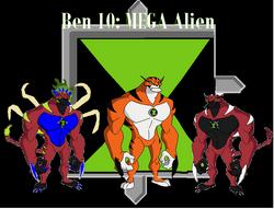 Ben 10 MEGA Alien Logo