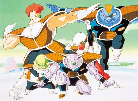 Recoome Ginyu Force