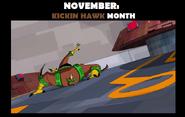 Kickin Hawk Month