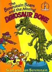 Berenstain bears and the missing dinosaur bone cover