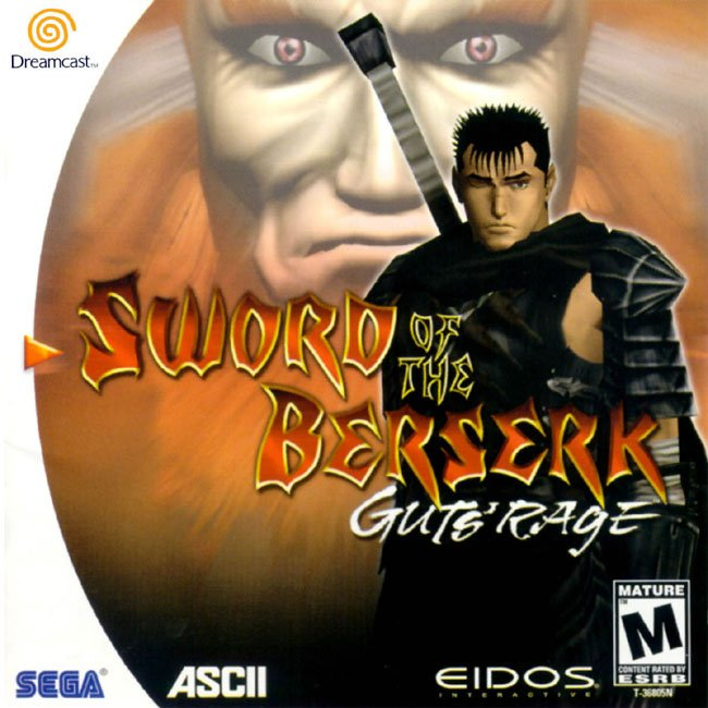 Sword of the Berserk Guts' Rage cover