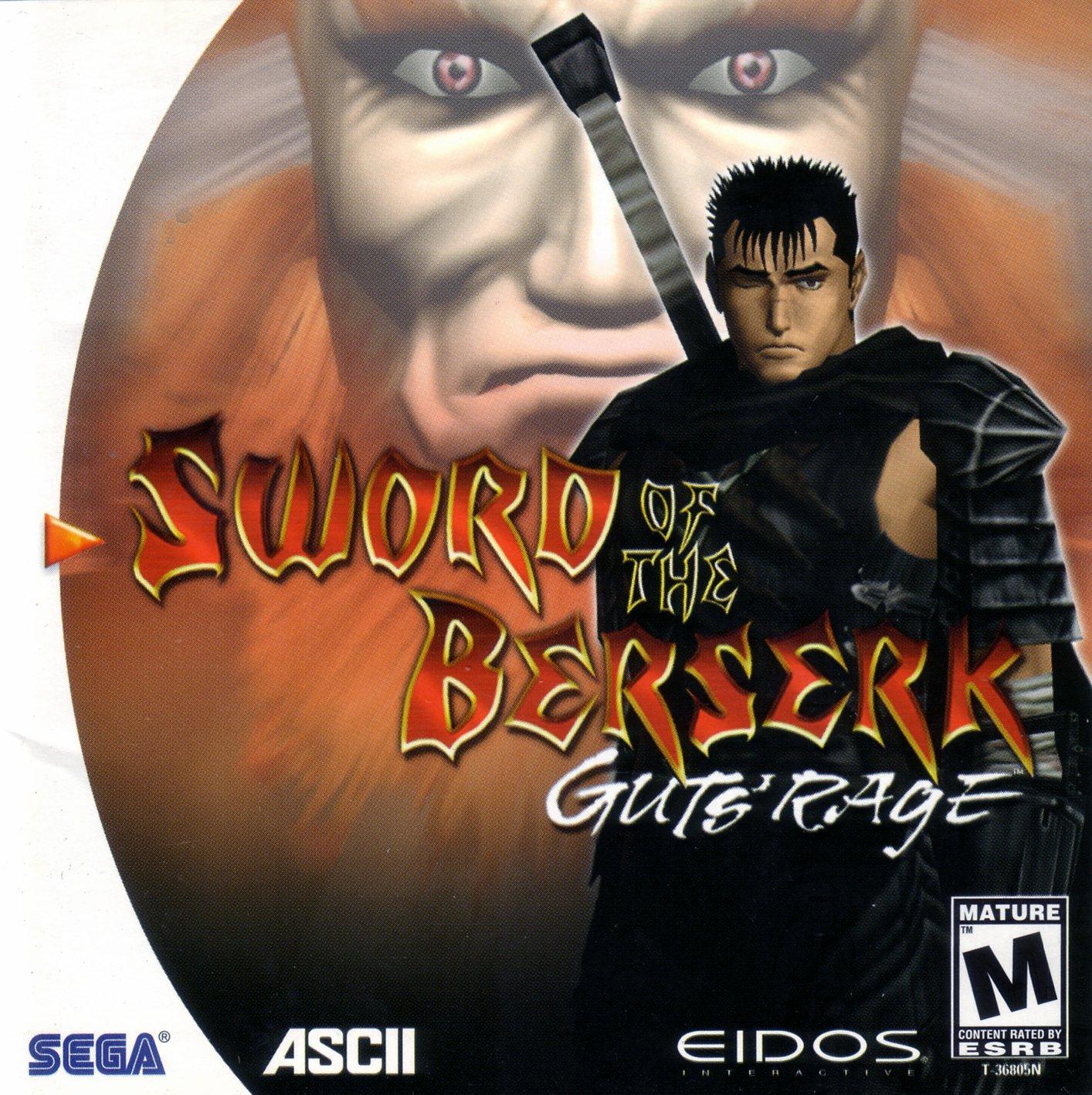 Sword of the Berserk Guts' Rage cover