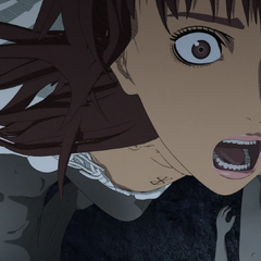 As she is about to be raped, Casca has terrifying flashbacks to the <a href=