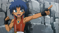 Beyblade 4D King saying oh my God