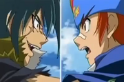 Kyoya faces Gingka
