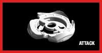 Metalwheel screw