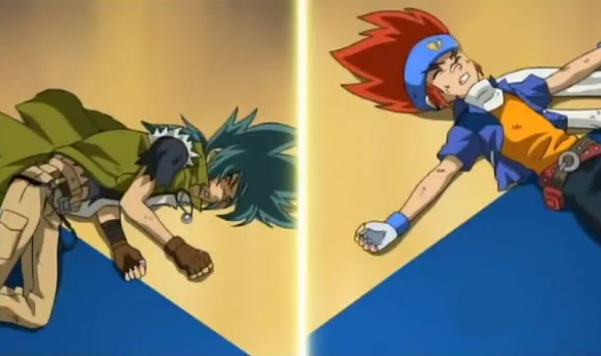 Image - Gingka and Kyoya out.png | Beyblade Wiki | FANDOM ...