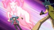 Hyoma takes on Kyoya