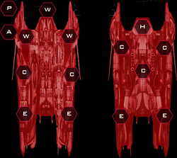 Heavy Raider Fleet Recon Systems Slots