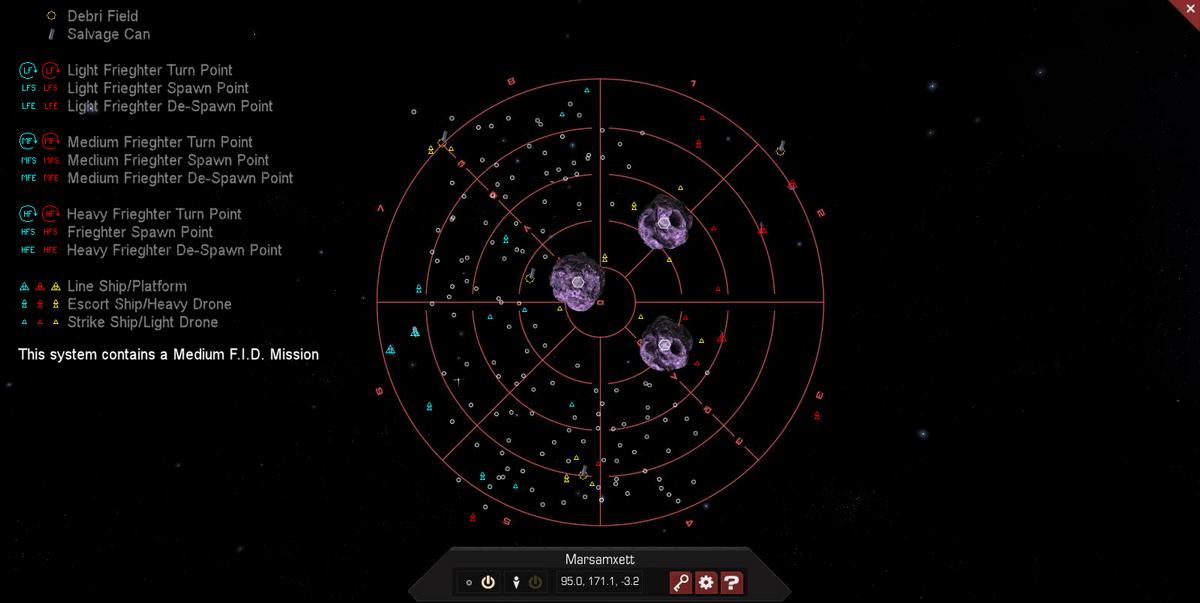 Marsamxett 3D System Map
