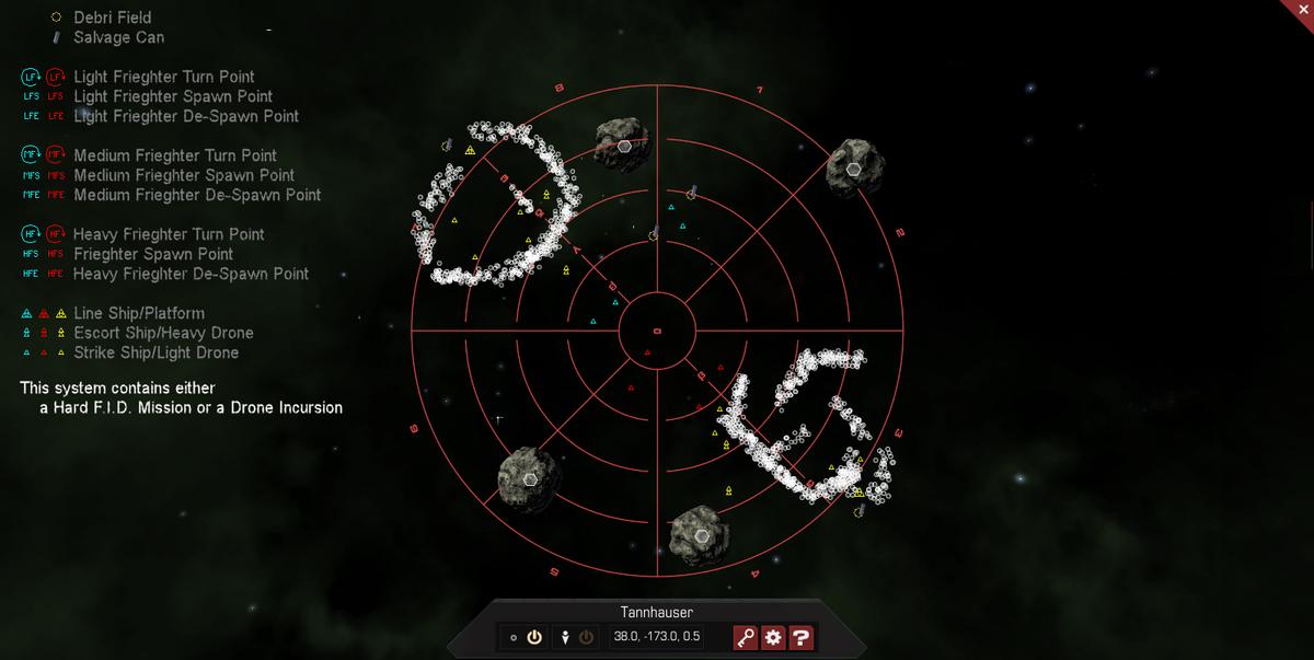 Tannhauser 3D System Map