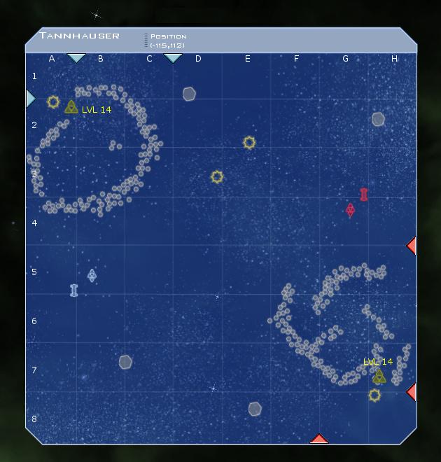Tannhauser System Map