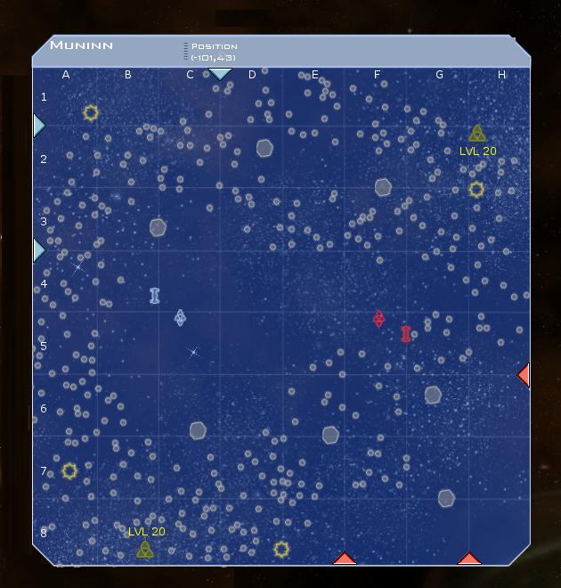 Munnin System Map