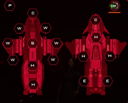 Cylon Advanced Wraith Systems