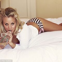 Kaley in FHM.