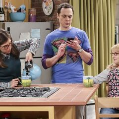 Pictures of Sheldon and Amy's creation.