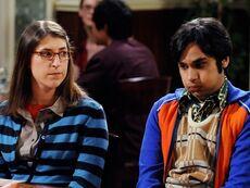 Amy and Raj