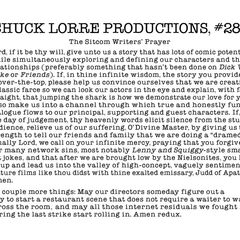 Chuck Lorre Productions, #285.