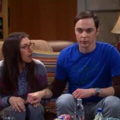 Sheldon creates a huge progress in his relationship with Amy, by initiating their hand-holding.