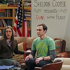 Sheldon and Amy on