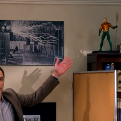 The security camera is in Aquaman.