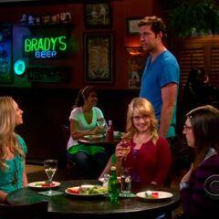 Zack runs into the girls.