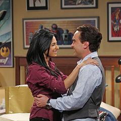 Priya and Leonard.