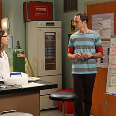 Figuring out what caused Amy's symptoms.