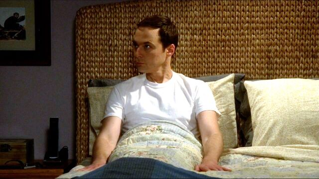 File:Sheldon waiting for Amy in her bed.jpg