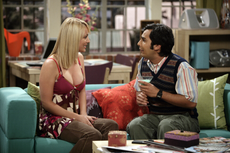 Penny talks to Raj while he's drunk