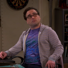 Leonard hearing Sheldon's apology.