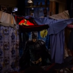 Sheldon and Amy's fort.