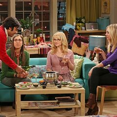 Raj again crashes girls' night.
