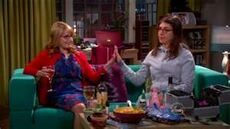 Amy and Bernie at slumber party