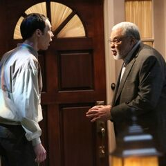 James Earl Jones ringing Carrie Fisher's doorbell and running away.