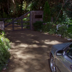 The real Skywalker Ranch gate.