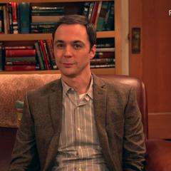Sheldon on camera.