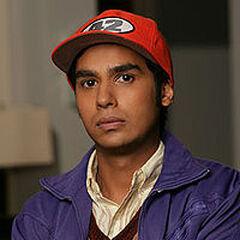 Raj from the pilot.