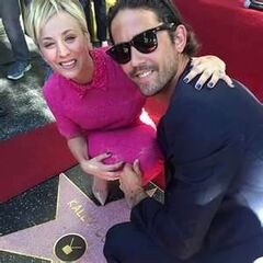 Kaley's star on Hollywood Blvd.