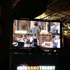 A behind the camera look at the taping of the episode.