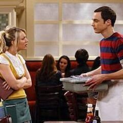 Sheldon, you don't work here.